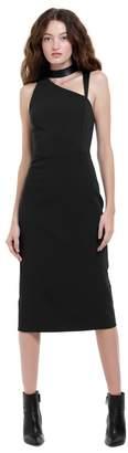 Alice + Olivia Jona Cutout Midi Dress