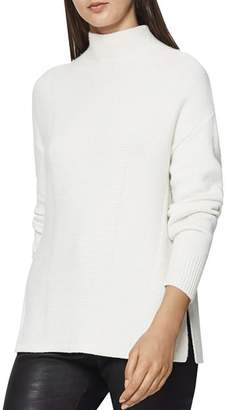 4653ebbd7d White Funnel Neck Women s Sweaters - ShopStyle