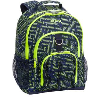 Pottery Barn Teen Gear-Up Yellow Neon Circuit Backpack
