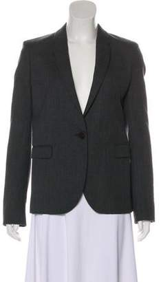 Chloé Wool Long Sleeve Blazer