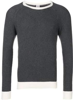 Eleventy contrast trim jumper