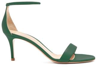 31531799032dd Gianvito Rossi Green Leather Women s Sandals - ShopStyle