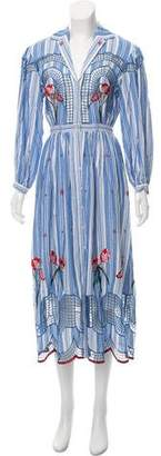 Temperley London Trelliage Shirt Dress w/ Tags