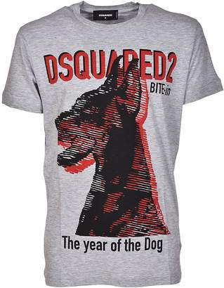 DSQUARED2 The Year Of The Dog Print T-shirt