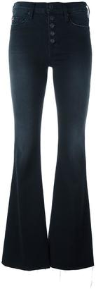 Hudson high waist flared jeans $238.47 thestylecure.com