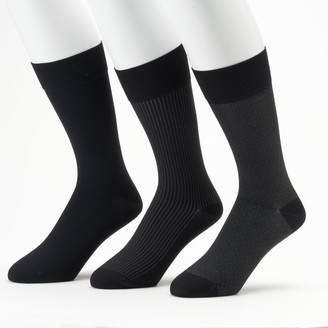 Marc Anthony Men's Microfiber Dress Socks