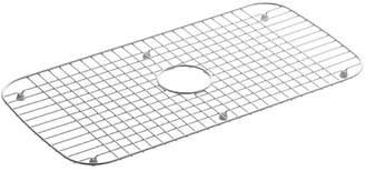"Kohler Undertone Stainless Steel Sink Rack, 13-3/4"" x 27-1/2"" for Undertone and Verse Kitchen Sinks"