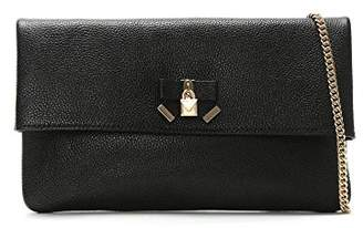 Michael Kors Womens Everly Md Fold Over Clutch Clutch