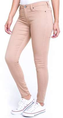 """Planet Pink Juniors' Super Soft Mid-Rise 29"""" Jeggings (Denim and Color Washes)"""