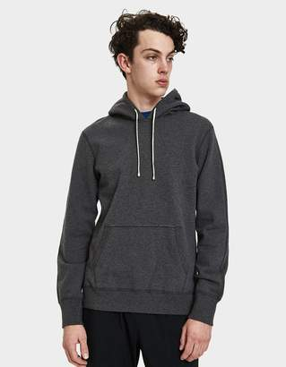 Reigning Champ Pullover Terry Hoodie in Heather Charcoal