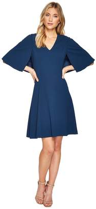 Adrianna Papell Knit Crepe Aline Fit and Flare Women's Dress