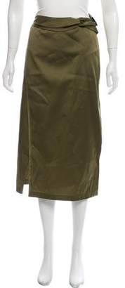 3.1 Phillip Lim Satin Knee-Length Skirt w/ Tags