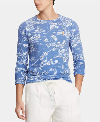 Polo Ralph Lauren Men Floral-Print Graphic Shirt