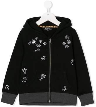 Vingino zip front hoodie