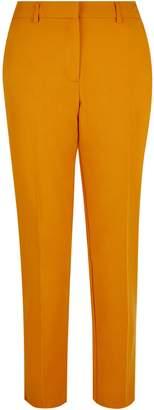 Dorothy Perkins Womens Mango Split Hem Ankle Grazer Trousers
