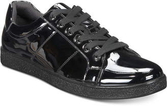INC International Concepts I.n.c. Men Spyke Patent Lace-Ups, Men Shoes