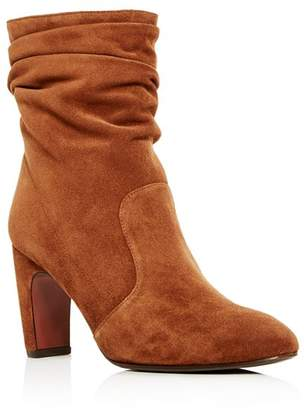 Chie Mihara Women's Jazz Suede Slouch High-Heel Boots