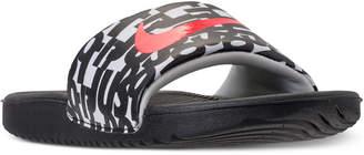 Nike Boys' Kawa Just Do It Slide Sandals from Finish Line