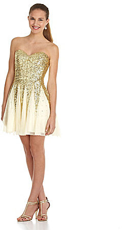 B. Darlin Sequin Party Dress