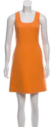 Versace Sleeveless Wool Dress w/ Tags