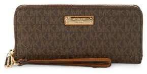 MICHAEL Michael Kors Zip-Around Wristlet-Strap Wallet