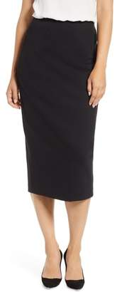 Everleigh Ponte Pencil Skirt