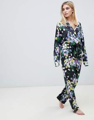 1d85492dd0 Asos Design DESIGN mix & match floral pyjama pants in 100% woven modal