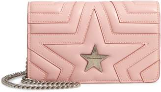 Stella McCartney Star Faux Leather Crossbody Bag