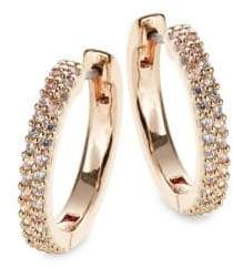 Kate Spade Pave Hug Hoop Earrings