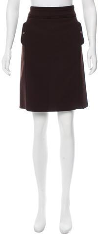 Tory BurchTory Burch Wool-Blend Mini Skirt