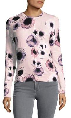 Lord & Taylor Petite Floral Cotton Cardigan