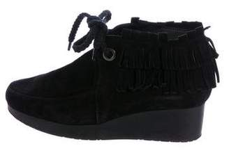 free shipping outlet locations free shipping manchester great sale Robert Clergerie Suede Niam Wedged Ankle Boots outlet store locations free shipping sast order kUR9pDKGqC