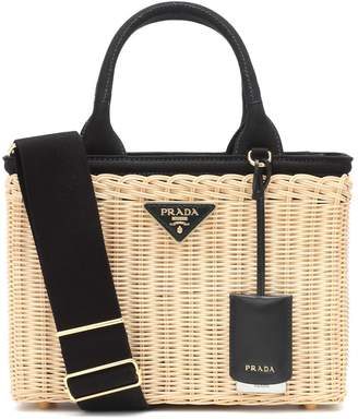 Prada Bamboo basket bag