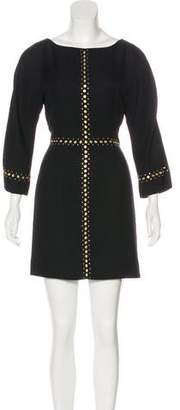Tamara Mellon Embellished Mini Dress