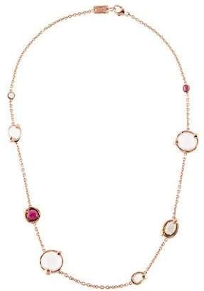 Ippolita Rose Multistone Station Necklace