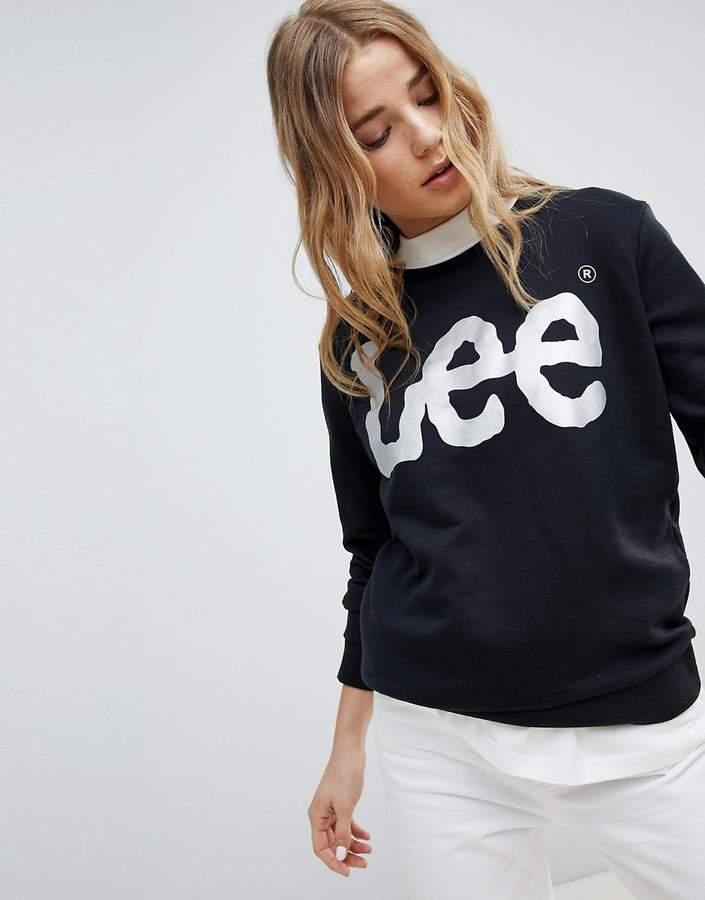 Lee Jeans Lee – Sweatshirt mit Metallic-Logo