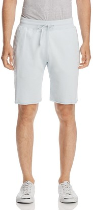 REIGNING CHAMP Raw Edge Sweat Shorts $95 thestylecure.com