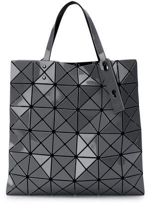 Bao Bao Issey Miyake triangular applique tote bag