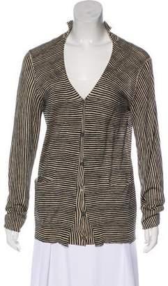 Marni Stripe Knit Cardigan