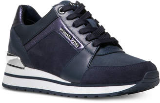 Michael Kors Billie Trainer Lace Up Sneakers