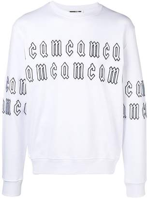 McQ repeat logo sweatshirt