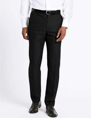 Marks and Spencer Big & Tall Charcoal Tailored Fit Trousers