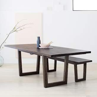 west elm Logan Industrial Expandable Dining Table