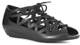 Mia Liz Wedge Peep-Toe Sandals