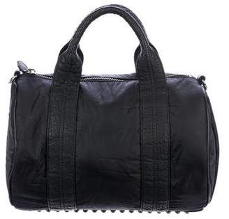 Alexander Wang Leather-Trimmed Rockie Duffel