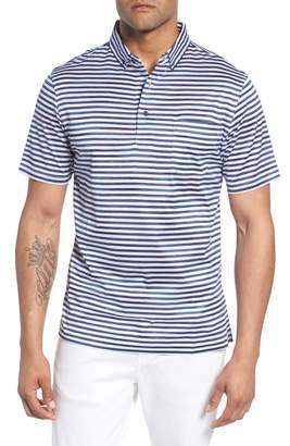 Bugatchi Stripe Knit Polo