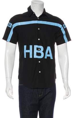 Hood by Air Graphic Short Sleeve Shirt
