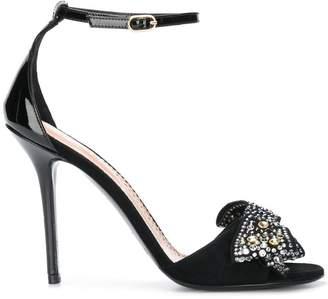 Twin-Set bow studded open-toe sandals very cheap cheap online Manchester online outlet shop offer ZbQd1lBEVI