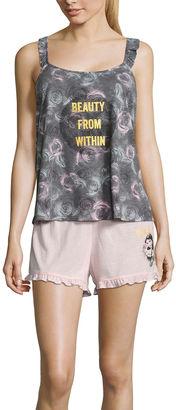 DISNEY Disney Shorts Pajama Set-Juniors $36 thestylecure.com
