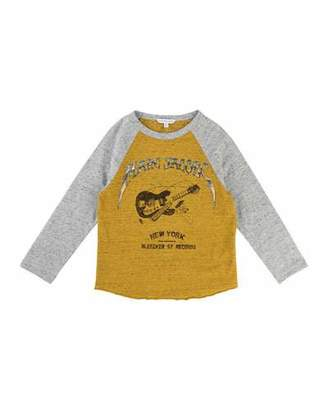 Little Marc Jacobs Long-Sleeve Music Illustration Tee, Size 6-10 $76 thestylecure.com
